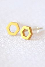 Tess Hexagon Earrings, Simon & Ruby
