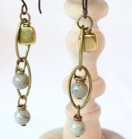 Monterey Brass Earrings