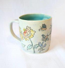 Allie Walter Butterflies & Flowers Mug