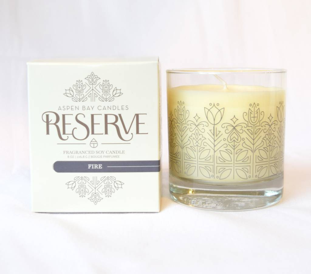Candle. Aspen Bay. Boxed Tumbler
