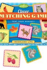 Woodland Life Matching Game