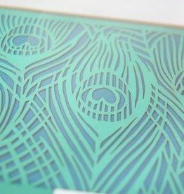 Peacock Notecard Set