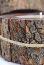 Grapefruit Pine Candle   Tree Bark