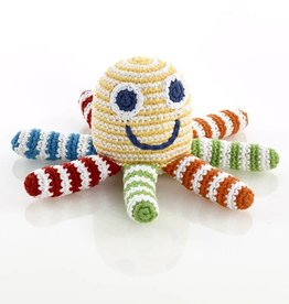 Knit Ocotpus Rattle