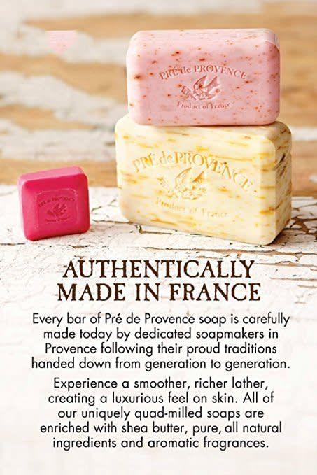 Pre de Provence Verbena Soap Bar   Pre de Provence