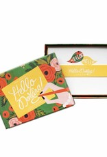 Hello Darling Stationery Set by Rifle Paper Co
