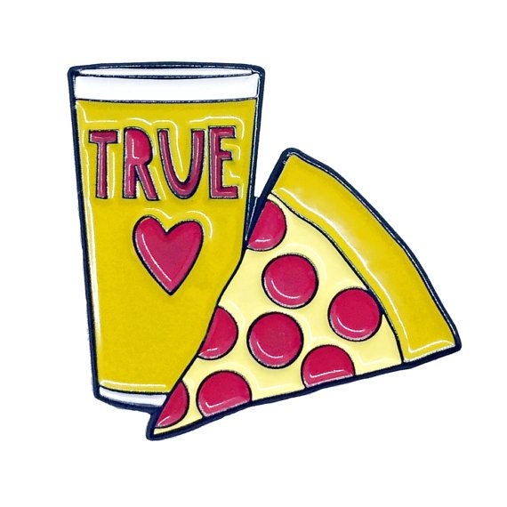 True Love Enamel Pin   Near Modern Disaster