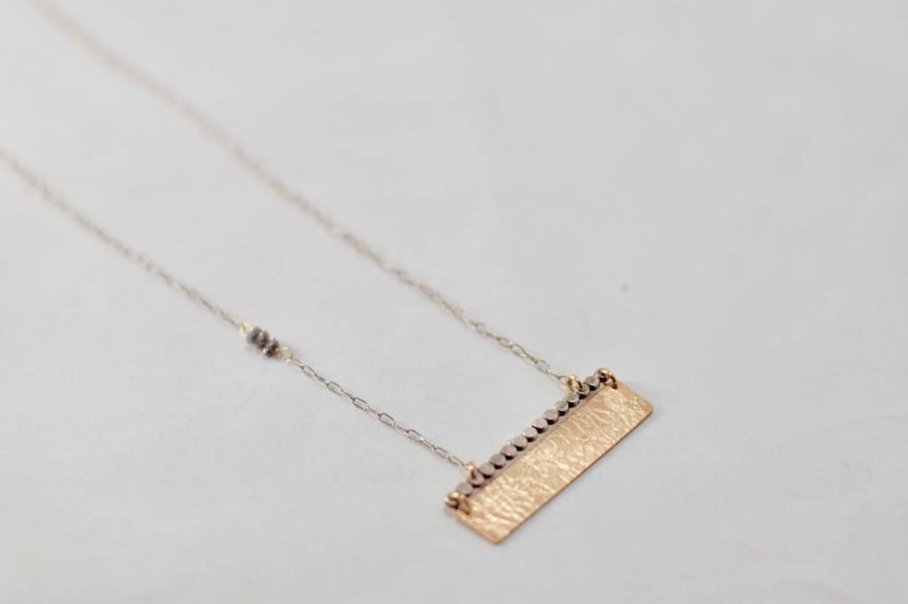 Laura J Raw Diamond Necklace | Laura J