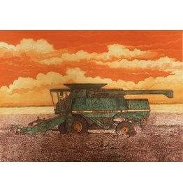 Simoens, Leo Harvesting Flax