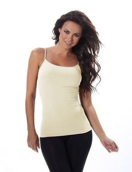 RECOVER LONG CAMI TANK TOP (WHITE, IVORY OR BLACK)