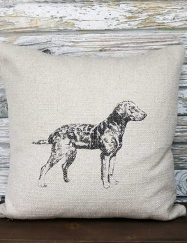 FRENCH LAUNDRY 20 X 20 PILLOW, RETRIEVER