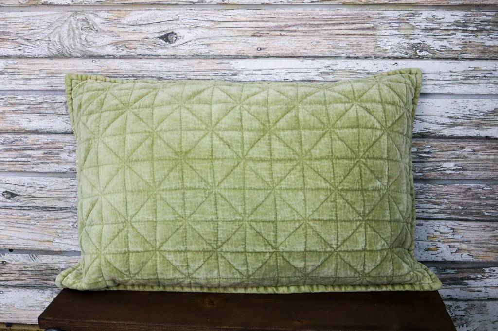 RECTANGLE VELVET PILLOW