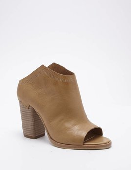 DOLCE VITA NOA LEATHER WEDGE BOOTIE