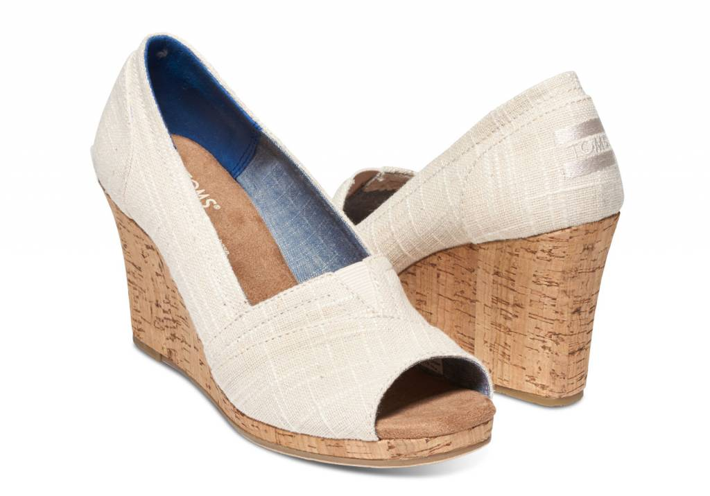 TOMS CORK CLASSIC WEDGE