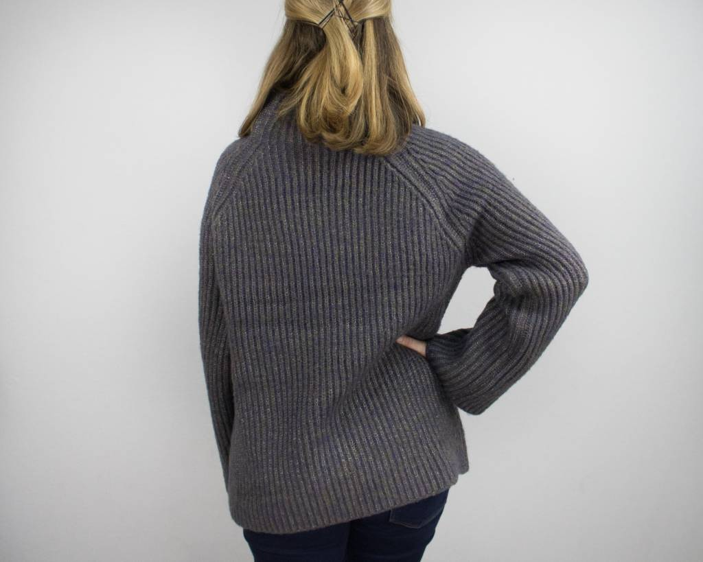 KERISMA MOCK NECK CABLE KNIT SWEATER