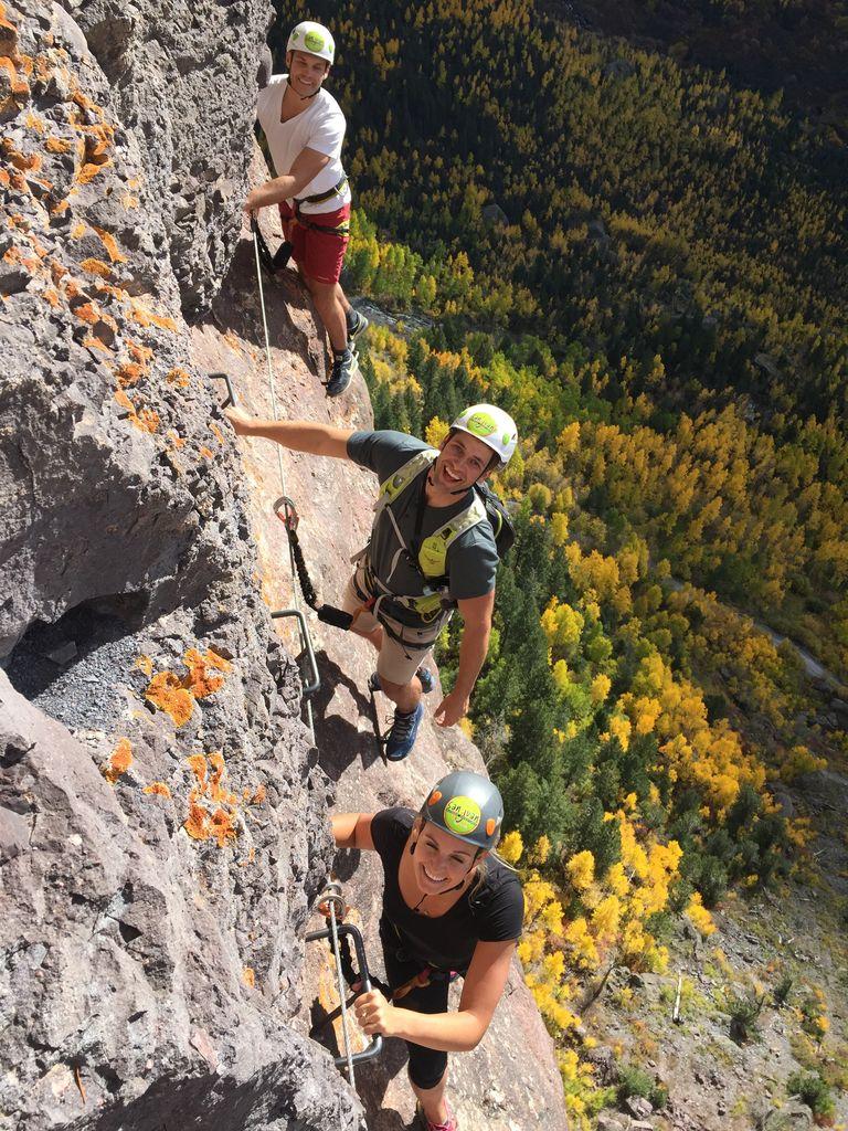 climbing Via Ferrata Full Day