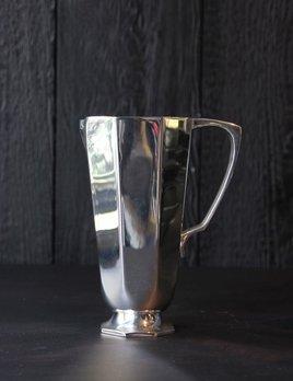 Brassco BECKER MINTY Silver Plated (Brass) Geometric Water Jug