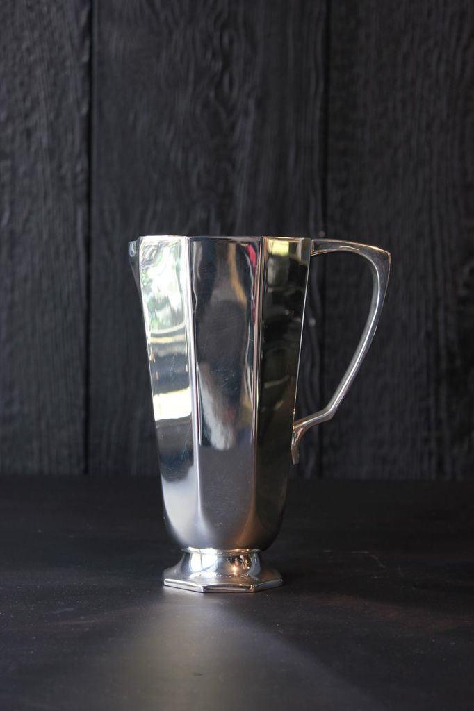 Brassco BECKER MINTY Silver Plated (Brass) Geometric Water Jug