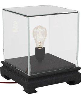 Akar de Nissim Akar De Nissim - SONG - Desk Lamp with Clear Glass Shade - L23.6xW23.6xH27cm