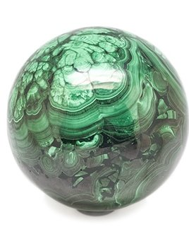 Malachite Sphere D9cm