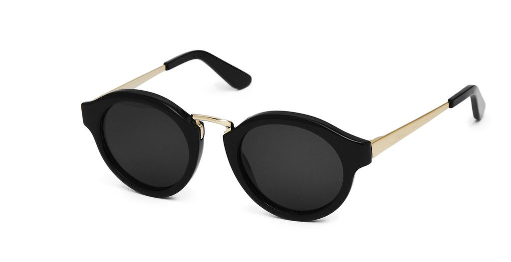 Nick Campbell Eyewear - Miki Sunglasses - Black with Dark Frames