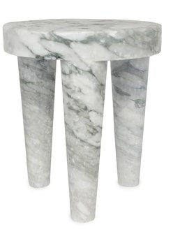 Kelly Wearstler Kelly Wearstler - Large Tribute Stool - Big Flower Marble - 38x46cm