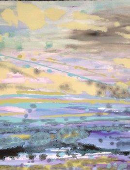 Jacqueline Tiepermann - Nushi V - Oil on Paper 592x73cm (2015)