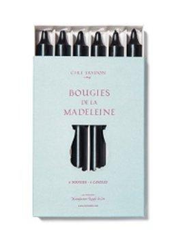 Cire Trudon Cire Trudon Madeleine Taper Candles - Boxed set of 6 - Black - 20cm