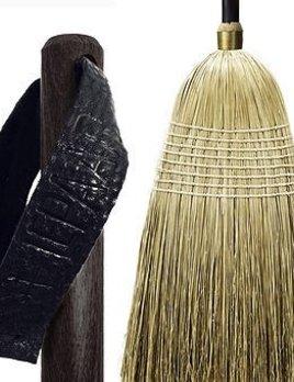 Lepaar - Gardenlust Essential Broom Ebony / Dip dyed Millet