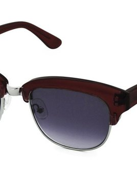 Nick Campbell Eyewear - Condor - Oxblood and Silver
