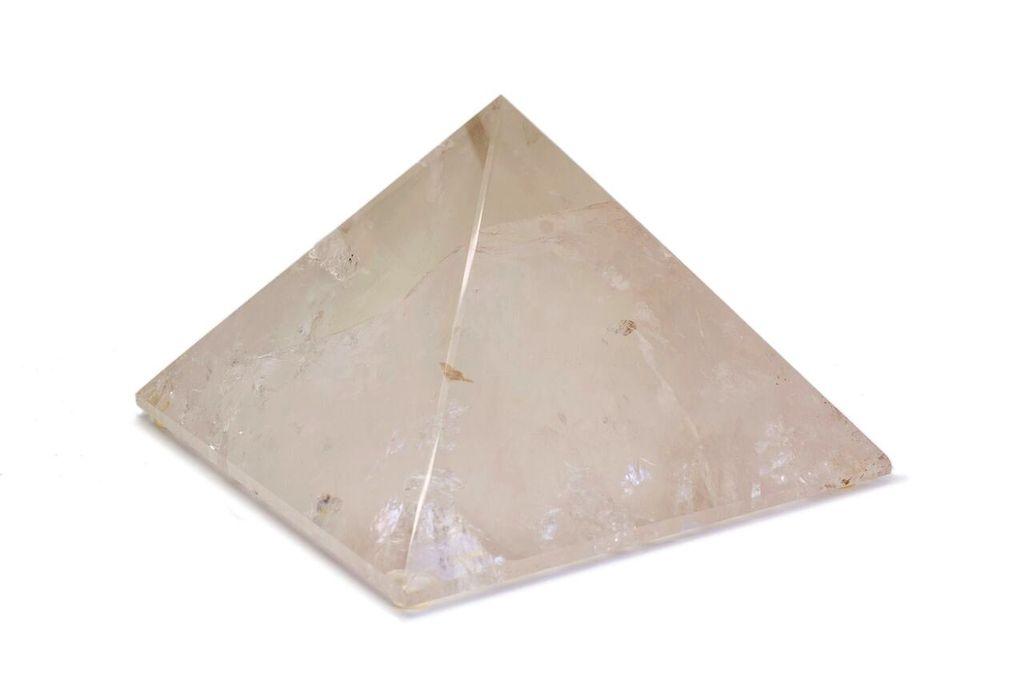 Large Clear Quartz Pyramid - 168mm
