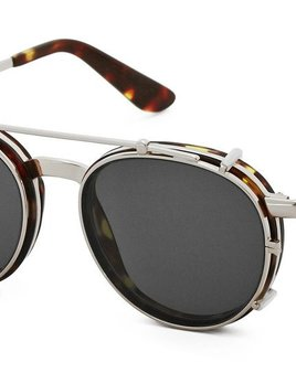 Nick Campbell Eyewear - Malcolm - Tortoise and Silver
