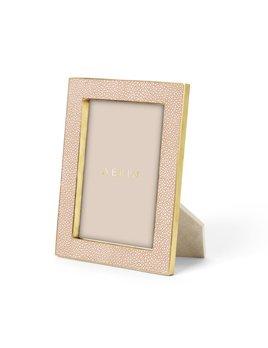 "Aerin AERIN - Classic - Embossed Shagreen Frame - Blush - 5x7"""