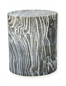 Kelly Wearstler Kelly Wearstler - Monolith Side Table - Grey - 40.5x46cm