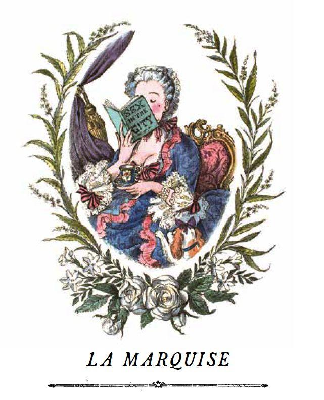 Cire Trudon La Marquise - Cire Trudon Candle - 270g - 55-65 hours