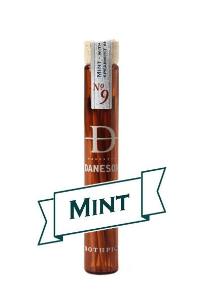 daneson Daneson Flavoured Tooth Picks - Mint No 9 - Individual Bottle