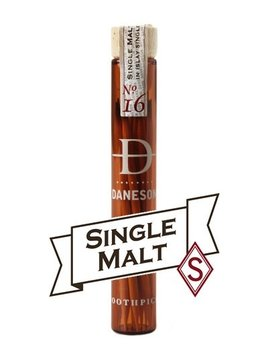 daneson Daneson Flavoured Tooth Picks - Single Malt No 16 - Individual Bottle