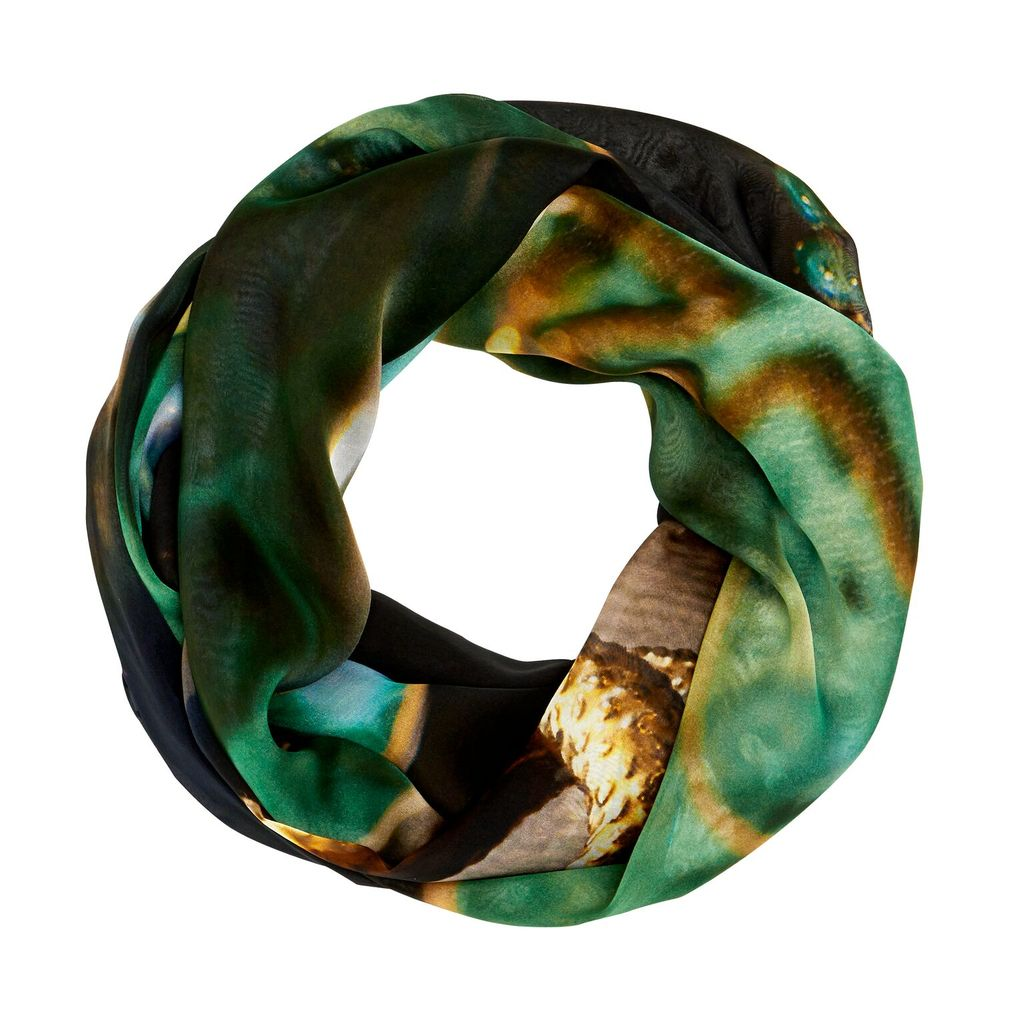 BECKER MINTY Mr.MINTY x GOOD&Co Scarf - #Green&Gold -160x130cm