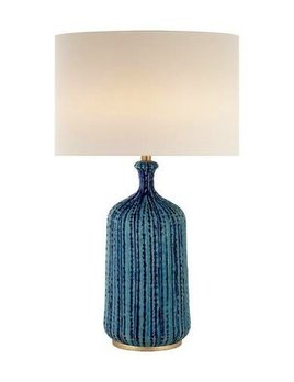Aerin AERIN - Culloden Lamp - Pebble Aquamarine