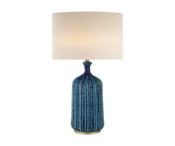 Aerin AERIN - Culloden Lamp - Pebble Aquamarine