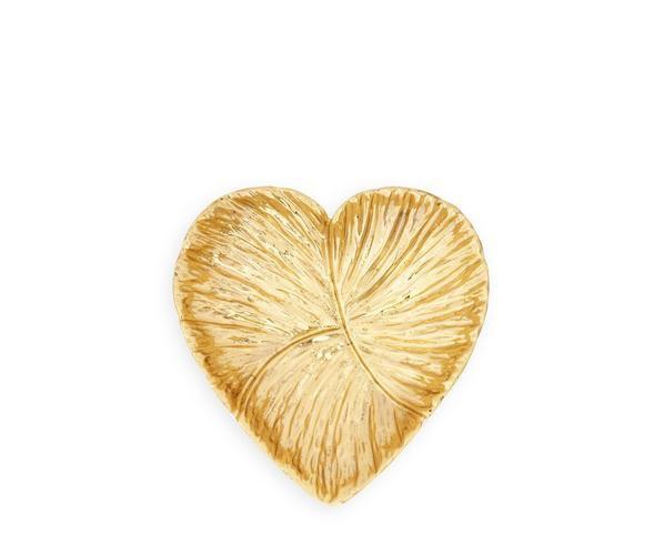 "Aerin AERIN - Medium Floral Heart Dish - 5.1"" x 5.1"" x 1.3"""
