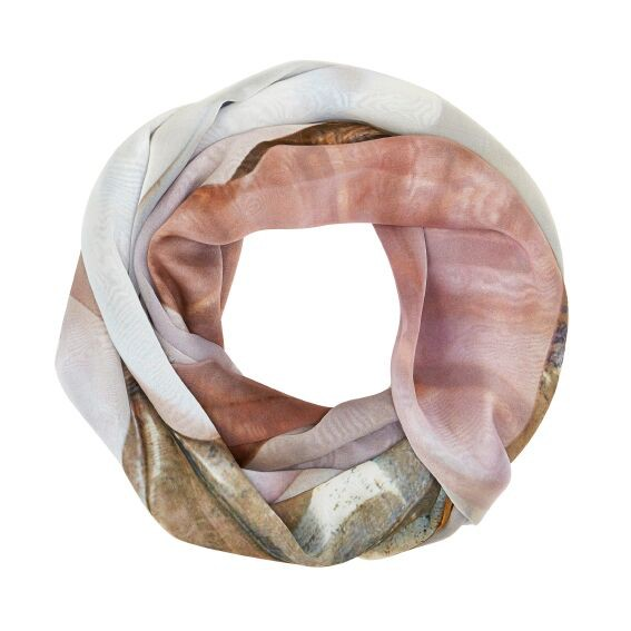 BECKER MINTY Mr.MINTY x GOOD&Co Scarf - #KellyKiss - 100% Silk - 160x130cm