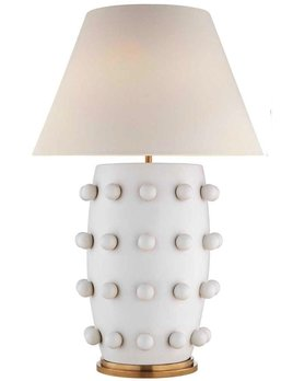 Kelly Wearstler Kelly Wearstler - Linden Table Lamp - White