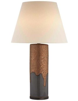 Kelly Wearstler Kelly Wearstler - Marmont Table Lamp - Dove Grey/Gold