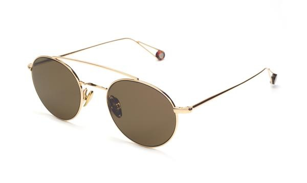 TSG Distribution Ahlem Eyewear - Bastille - Champagne - Palladium frames dipped in 3 microns of gold