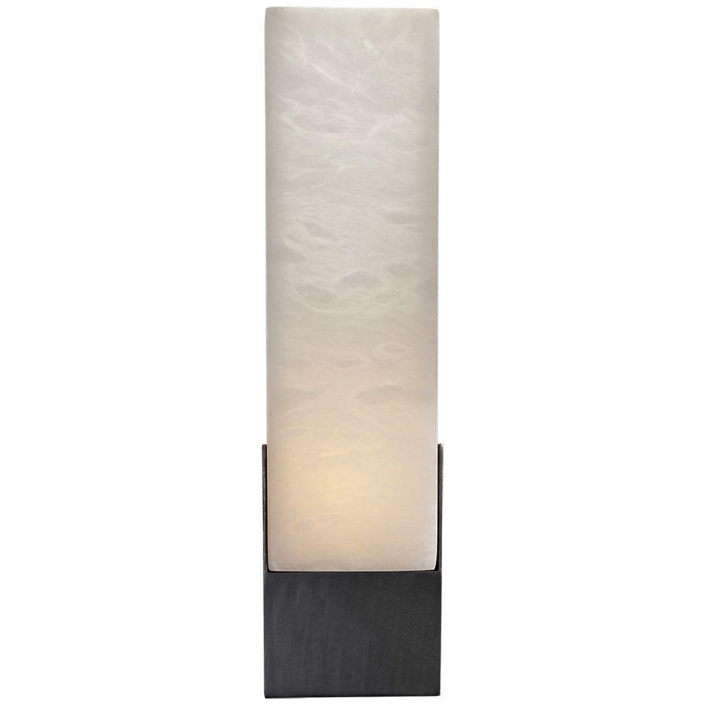 Kelly Wearstler Kelly Wearstler - Covet Tall Box Bath Sconce Lamp in Bronze