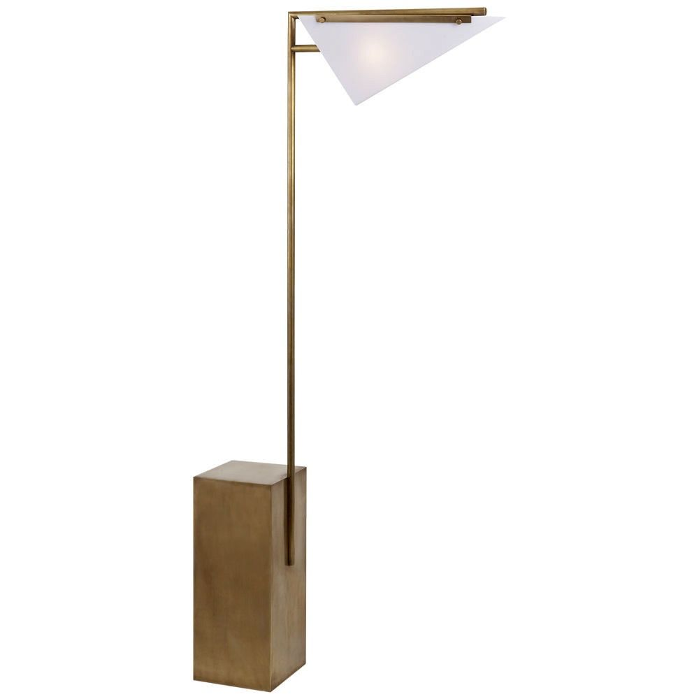 Kelly Wearstler Forma Floor Lamp Antique Brass Rewiring Lamps