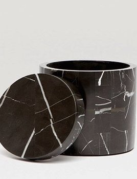 RHODES - Canister - Nero Marble