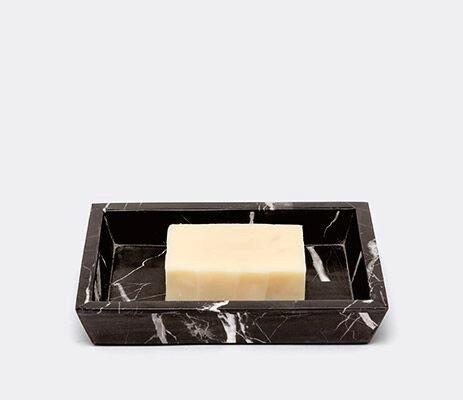 RHODES - Soap Dish - Nero Marble