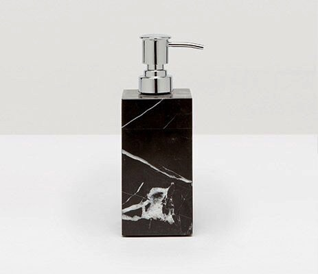 RHODES - Soap Pump - Nero Marble